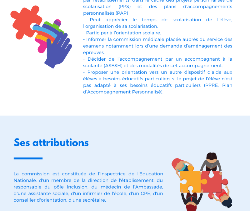 Commission Ecole Inclusive